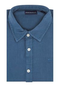 North Sails Koszula L/S Point Collar 663595 Granatowy Regular Fit. Kolor: niebieski