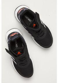 Czarne buty sportowe Adidas z cholewką, Adidas Cloudfoam
