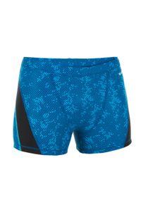 NABAIJI - Bokserki Pływackie Stab Męskie. Kolor: turkusowy, niebieski, wielokolorowy. Materiał: elastan, materiał