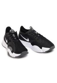 Czarne buty do fitnessu Nike na co dzień, z cholewką