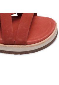 Czerwone sandały Merrell na co dzień, casualowe