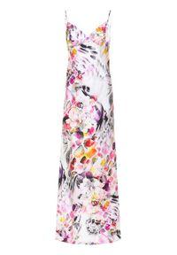 Guess Sukienka letnia JENNIFER LOPEZ Floral Flux 0GG735 7099Z Kolorowy Regular Fit. Wzór: kolorowy. Sezon: lato
