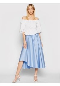 Niebieska spódnica Nissa