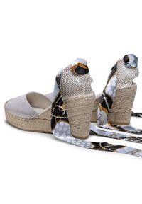 Szare sandały Vidorreta casualowe, na co dzień