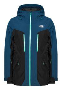 The North Face Kurtka narciarska Mount Bre NF0A3LUZ3ZP1 Niebieski Regular Fit. Kolor: niebieski. Sport: narciarstwo