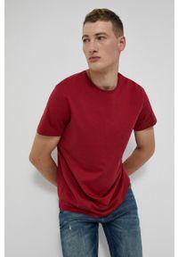 medicine - Medicine - T-shirt bawełniany Basic. Kolor: czerwony. Materiał: bawełna. Wzór: gładki