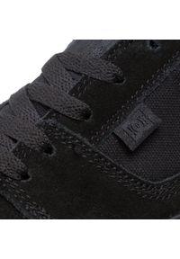 Tenisówki DC - Tonik ADYS300660 Black(BB2). Kolor: czarny. Materiał: skóra, materiał, zamsz. Szerokość cholewki: normalna