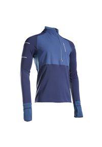 KIPRUN - Koszulka do biegania z długim rękawem męska Kiprun Warm Regul ocieplana. Materiał: materiał, poliester. Długość rękawa: długi rękaw. Długość: długie. Sezon: zima. Sport: fitness