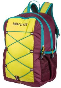 Marmot plecak Kid's Arbor 18L Green Spice/Deep Purple. Kolor: fioletowy
