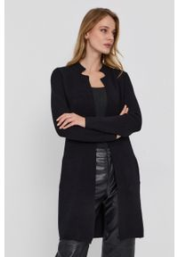 Morgan - Sweter 162.MBLOCK.M. Okazja: na co dzień. Kolor: czarny. Materiał: dzianina. Styl: casual