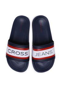 Niebieskie klapki Cross Jeans na co dzień, casualowe