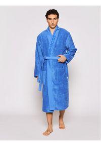 Niebieski szlafrok BOSS