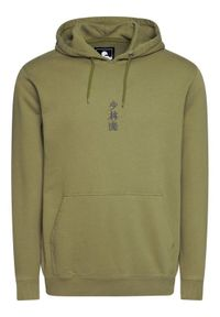Edwin Bluza Shao Lin Hoodie Sweat I028535 TJ1971P MAO67 Zielony Regular Fit. Kolor: zielony