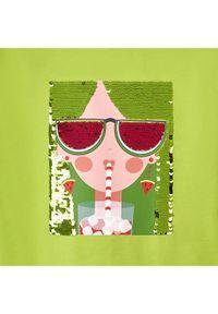 Mayoral T-Shirt 3019 Zielony Regular Fit. Kolor: zielony