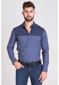 Koszula Emporio Armani biznesowa, na co dzień, na lato
