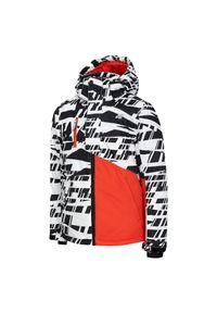4f - Kurtka narciarska dla dzieci 4F HJZ20-JKUMN002. Materiał: poliester, syntetyk, materiał. Sezon: zima. Sport: narciarstwo