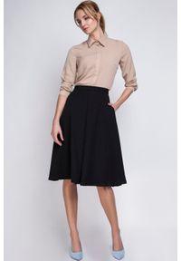 Czarna długa spódnica Lanti