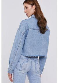 Miss Sixty - Koszula jeansowa. Kolor: niebieski. Materiał: jeans. Długość rękawa: długi rękaw. Długość: długie