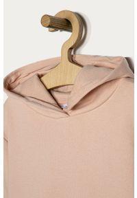 Różowa bluza Name it casualowa, na co dzień, z kapturem