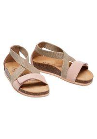 Primigi Sandały 7429411 D Beżowy. Kolor: beżowy