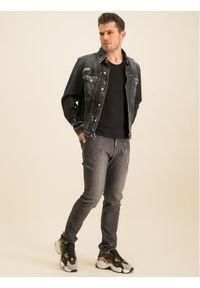 Emporio Armani Jeansy 6G1J06 1D6UZ 0005 Szary Slim Fit. Kolor: szary. Materiał: jeans, bawełna, elastan