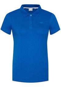 Niebieska koszulka polo 4f polo