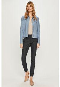 Niebieskie spodnie materiałowe