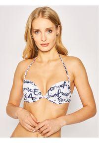 Białe bikini Emporio Armani