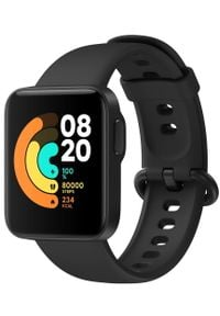 Xiaomi Mi Watch Lite, Black. Rodzaj zegarka: smartwatch. Kolor: czarny. Styl: casual
