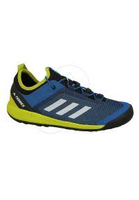Buty sportowe Adidas wspinaczkowe, z cholewką, Adidas Terrex, wąskie