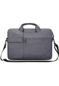 "TECH-PROTECT - Tech-Protect Pocketbag 15""-16"" dark grey. Materiał: materiał"