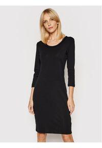 Lauren Ralph Lauren Sukienka codzienna 200825994001 Czarny Regular Fit. Okazja: na co dzień. Kolor: czarny. Typ sukienki: proste. Styl: casual