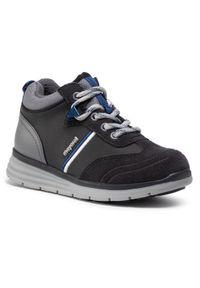 Czarne buty zimowe Mayoral