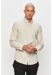 Biała koszula Tom Tailor klasyczna, na co dzień, z klasycznym kołnierzykiem