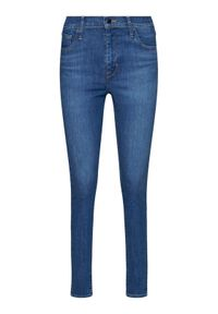 Levi's® Jeansy Super Skinny Fit 720™ 52797-0193 Niebieski Super Skinny FIt. Kolor: niebieski. Materiał: jeans