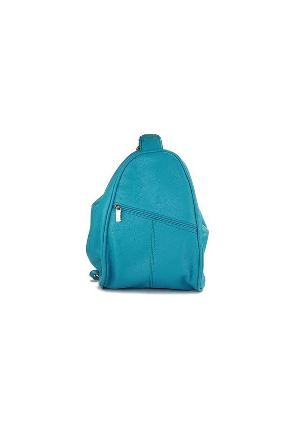 Turkusowy plecak Perfekt Plus