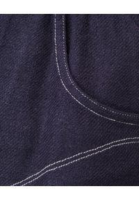 ISABEL MARANT - Granatowe spodenki z jedwabiu Talapiz. Kolor: niebieski. Materiał: jedwab. Sezon: lato