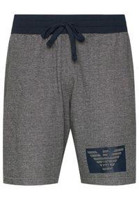 Szare spodenki sportowe Emporio Armani Underwear