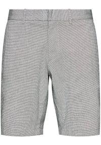 TOMMY HILFIGER - Tommy Hilfiger Szorty materiałowe Brooklyn Seers MW0MW13525 Szary Regular Fit. Kolor: szary. Materiał: materiał