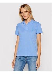 Polo Ralph Lauren Polo 211806666012 Niebieski Classic Fit. Typ kołnierza: polo. Kolor: niebieski