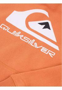 Pomarańczowa bluza sportowa Quiksilver