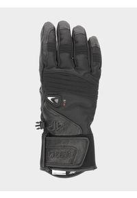 Czarne rękawiczki sportowe 4f narciarskie, Thinsulate