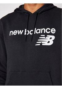New Balance Bluza C C F Hoodie MT03910 Czarny Relaxed Fit. Kolor: czarny