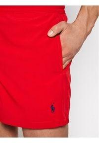 Polo Ralph Lauren Szorty kąpielowe Traveler 710837404010 Czerwony Slim Fit. Kolor: czerwony