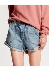 ONETEASPOON - Szorty Boyfriend Venice Hunter. Kolor: niebieski. Materiał: bawełna, jeans