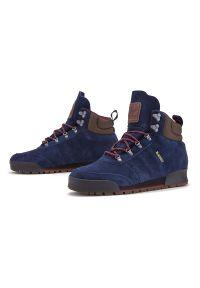 Buty zimowe Adidas na zimę, z cholewką