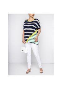 Białe jeansy Persona by Marina Rinaldi