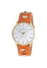 Pomarańczowy zegarek Thom Olson