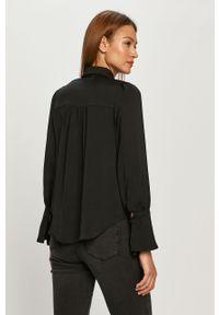 Czarna koszula only elegancka, na co dzień, długa