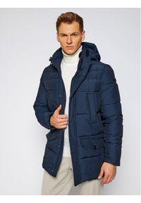 Niebieska kurtka puchowa Geox